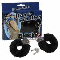 Наручники Handschellen Love Cuffs Black