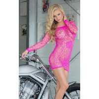 Платье - Sweetheart, neon pink