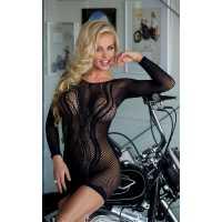 Платье - Wavy, black