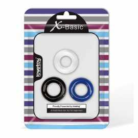 Эрекционные кольца - X-Basic Cockring Set