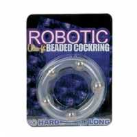 Эреционное кольцо - Robotic Ultra Fit Cock Ring Clear