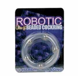 Эреционное кольцо - Robotic Ultra Fit Cock Ring Clear