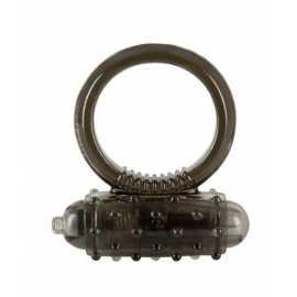 Эрекционное кольцо - Vibro Ring Dark Silicon