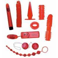 Набор из 9 игрушек Red Roses Set