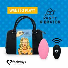 Вибратор в трусики FeelzToys Panty Vibrator