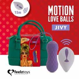 Виброяйцо FeelzToys Motion Love Balls Jivy
