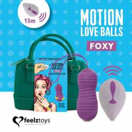 Виброяйцо Motion Love Balls Foxy